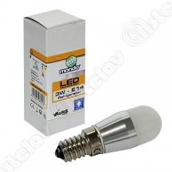 LAMPADINA LED FRIGO LUCE BIANCA 3W E14 230V